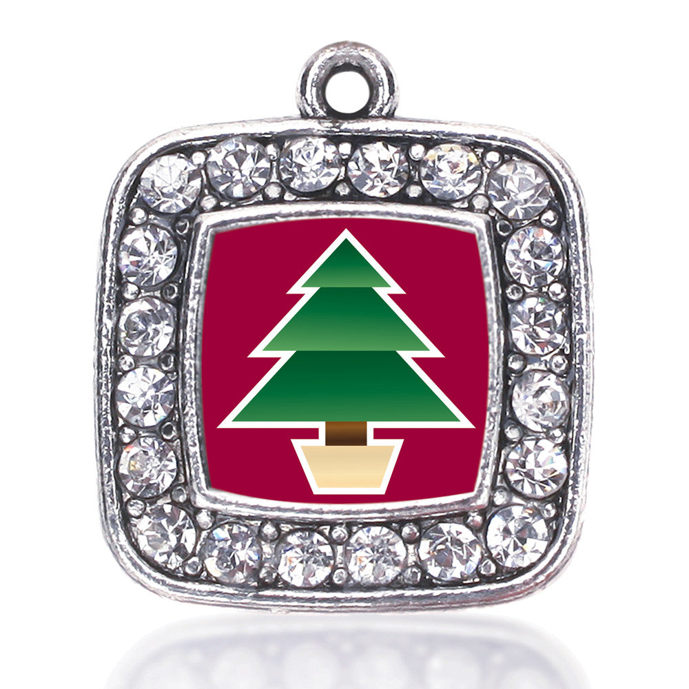 Holiday Tree Square Charm