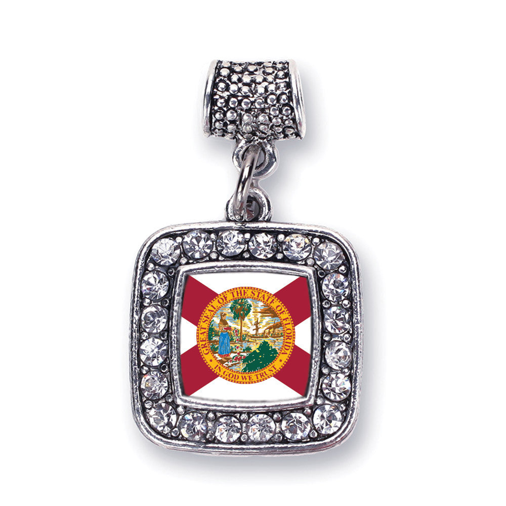 Florida Flag Square Charm
