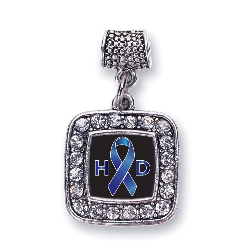 Huntington's Disease Support Square Charm