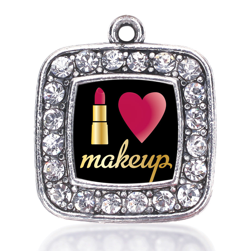 I Love Makeup Square Charm