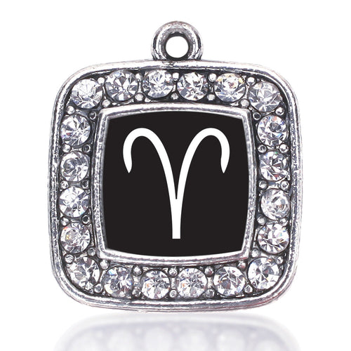 Aries Zodiac Square Charm