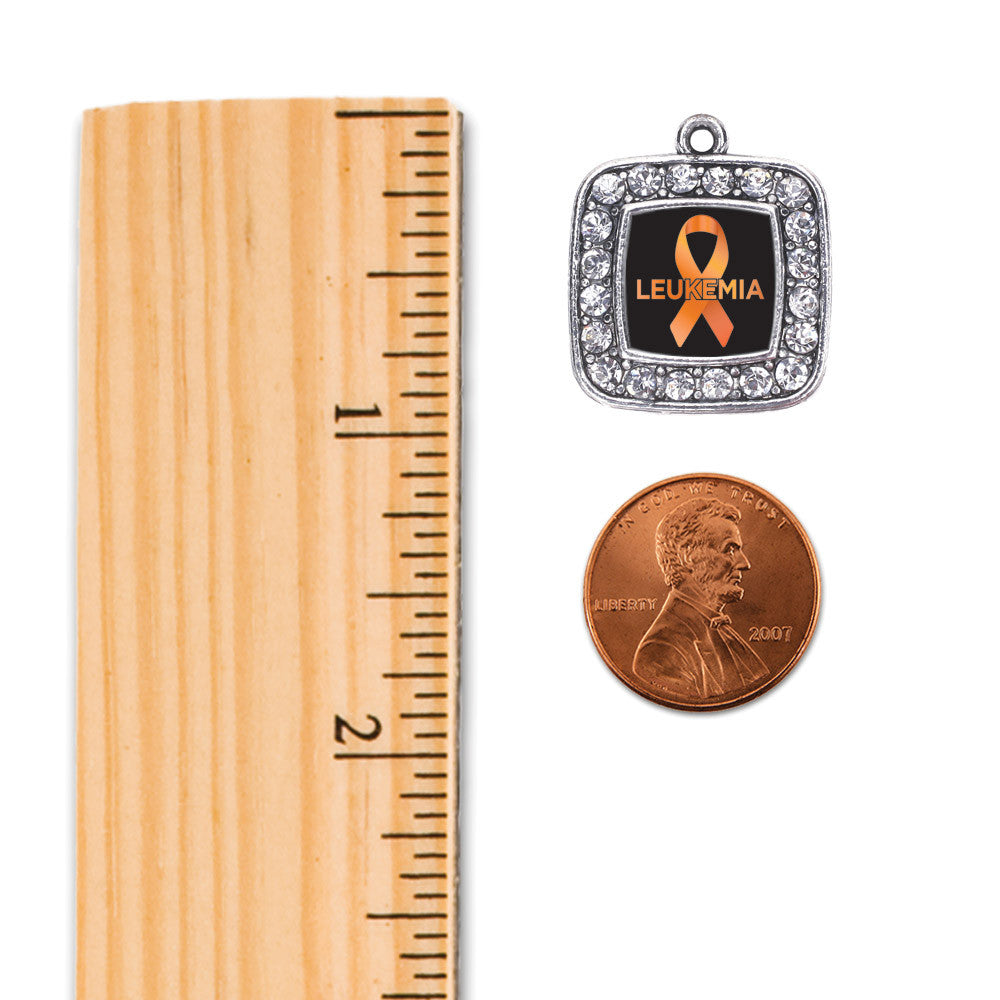 Leukemia Support Square Charm