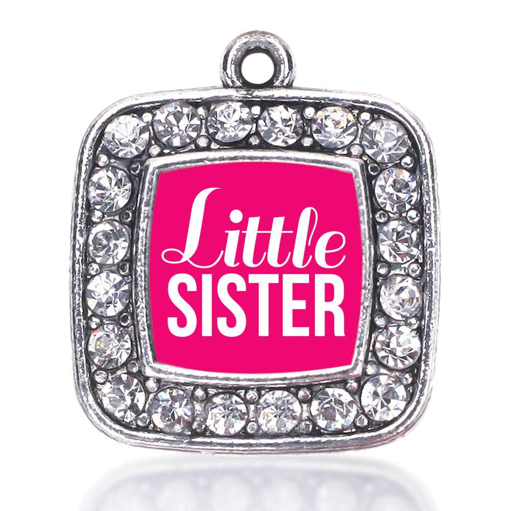 Little Sister Square Charm