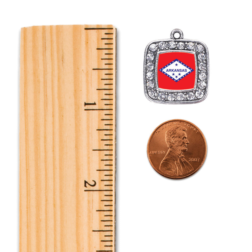 Arkansas Flag Square Charm