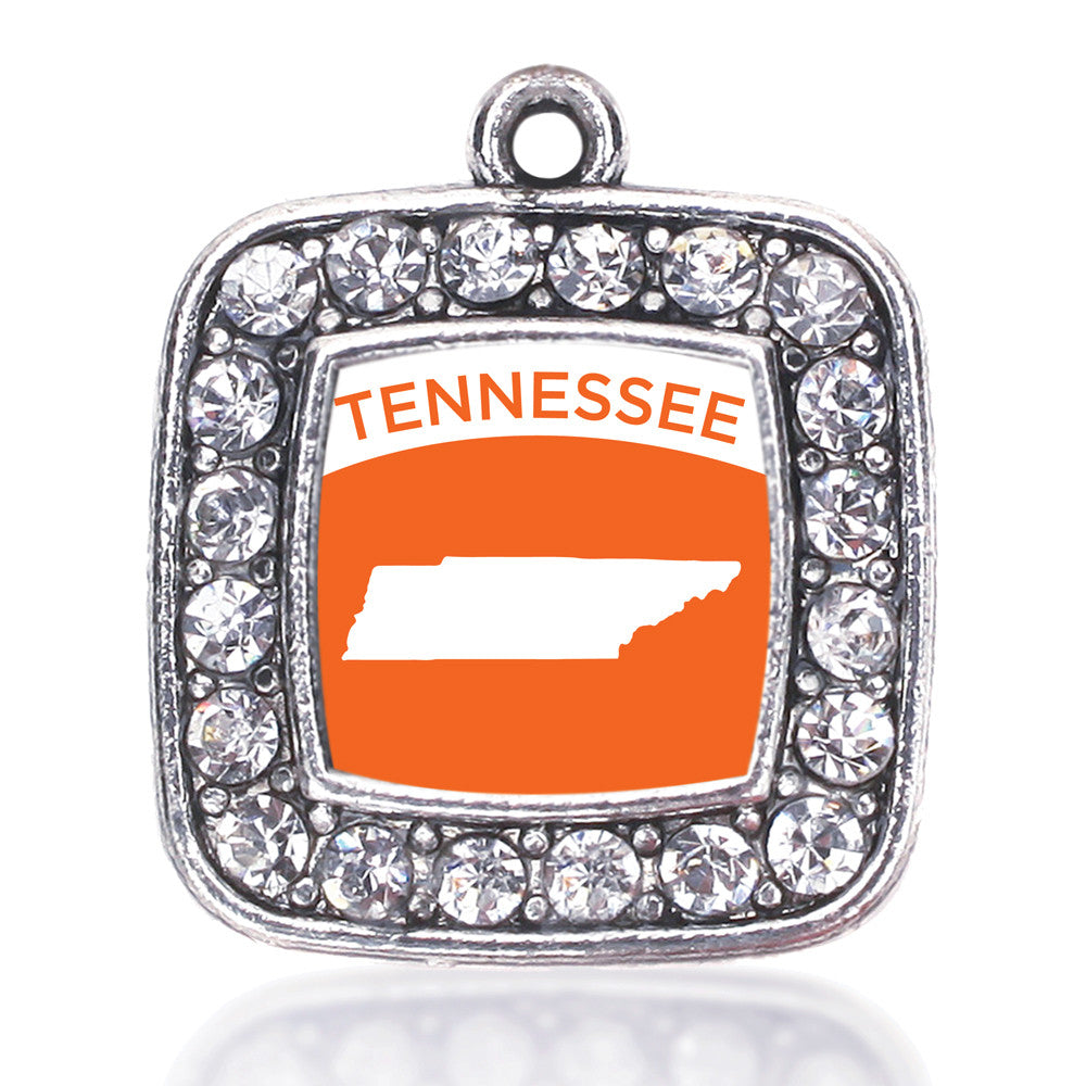 Tennessee Outline Square Charm