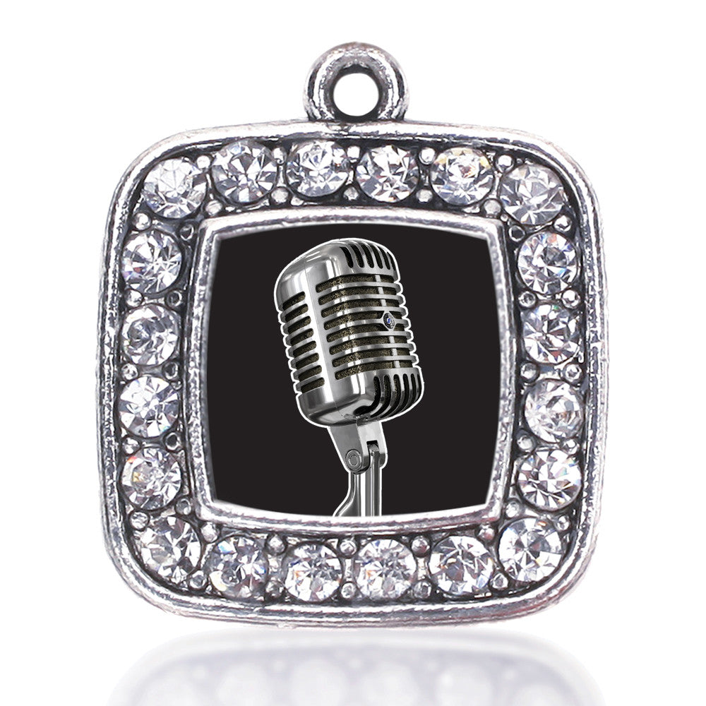 Microphone Square Charm
