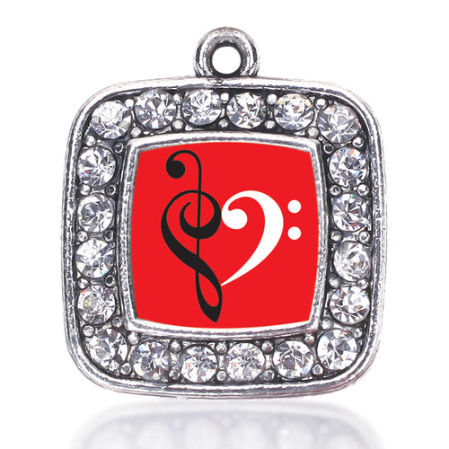 Music Is Love Square Charm
