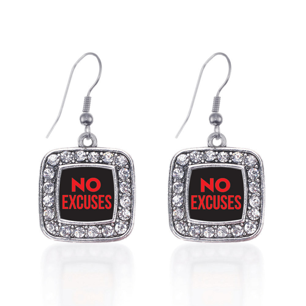 No Excuses Square Charm