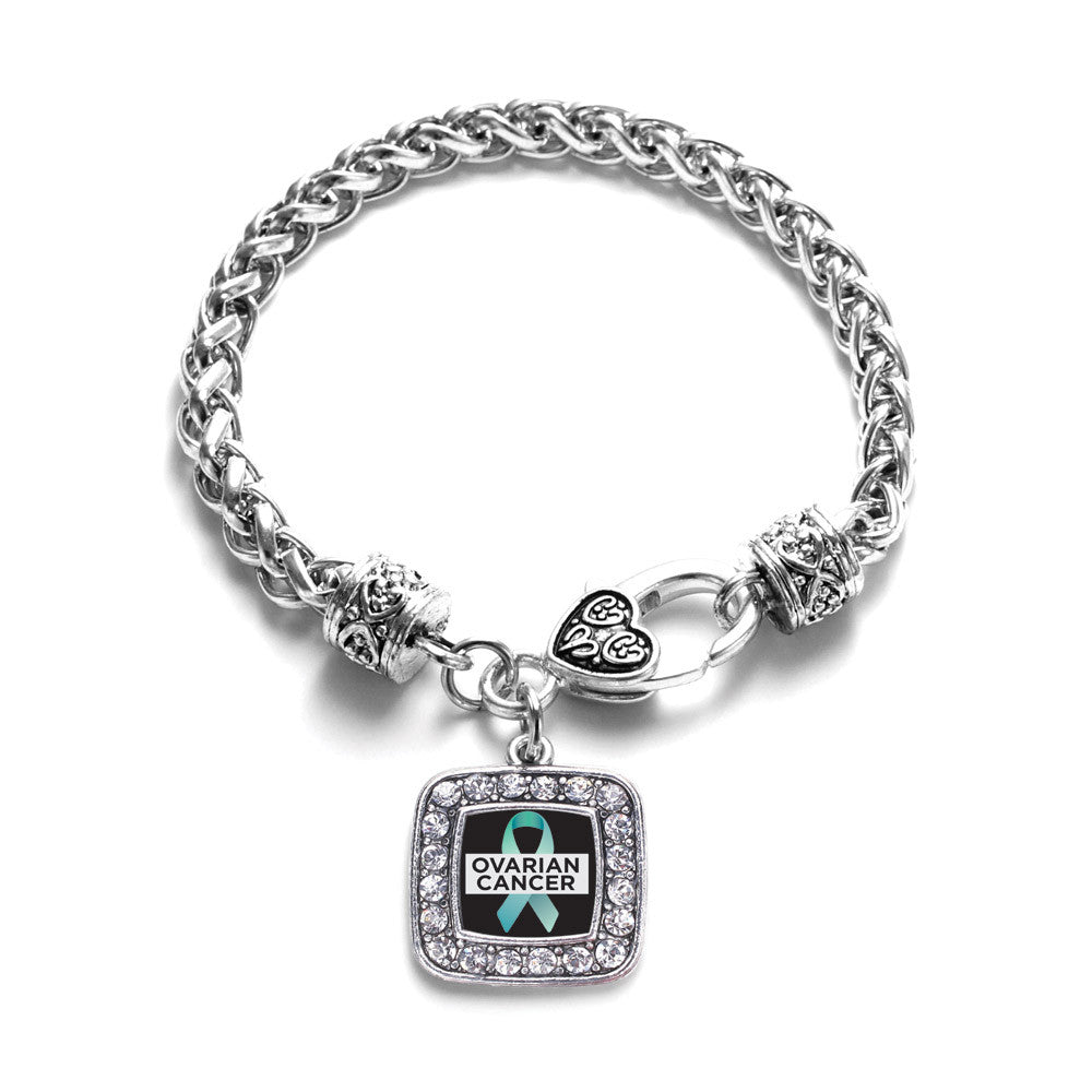 Ovarian Cancer Square Charm