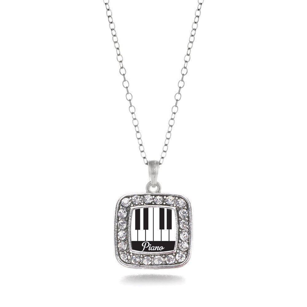 Piano Lovers Square Charm