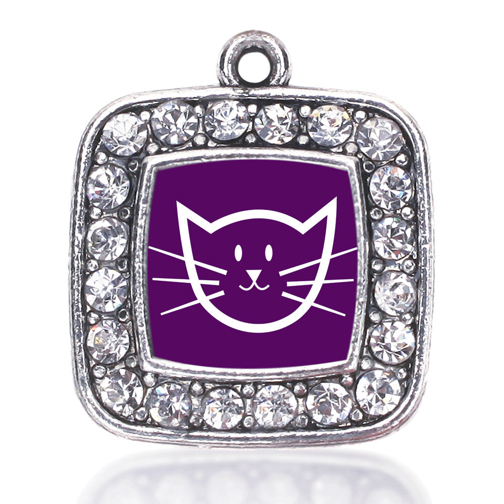 Pretty Kitty Square Charm