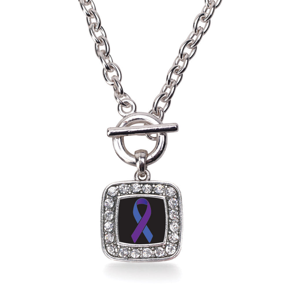 Rheumatoid Arthritis Awareness Square Charm