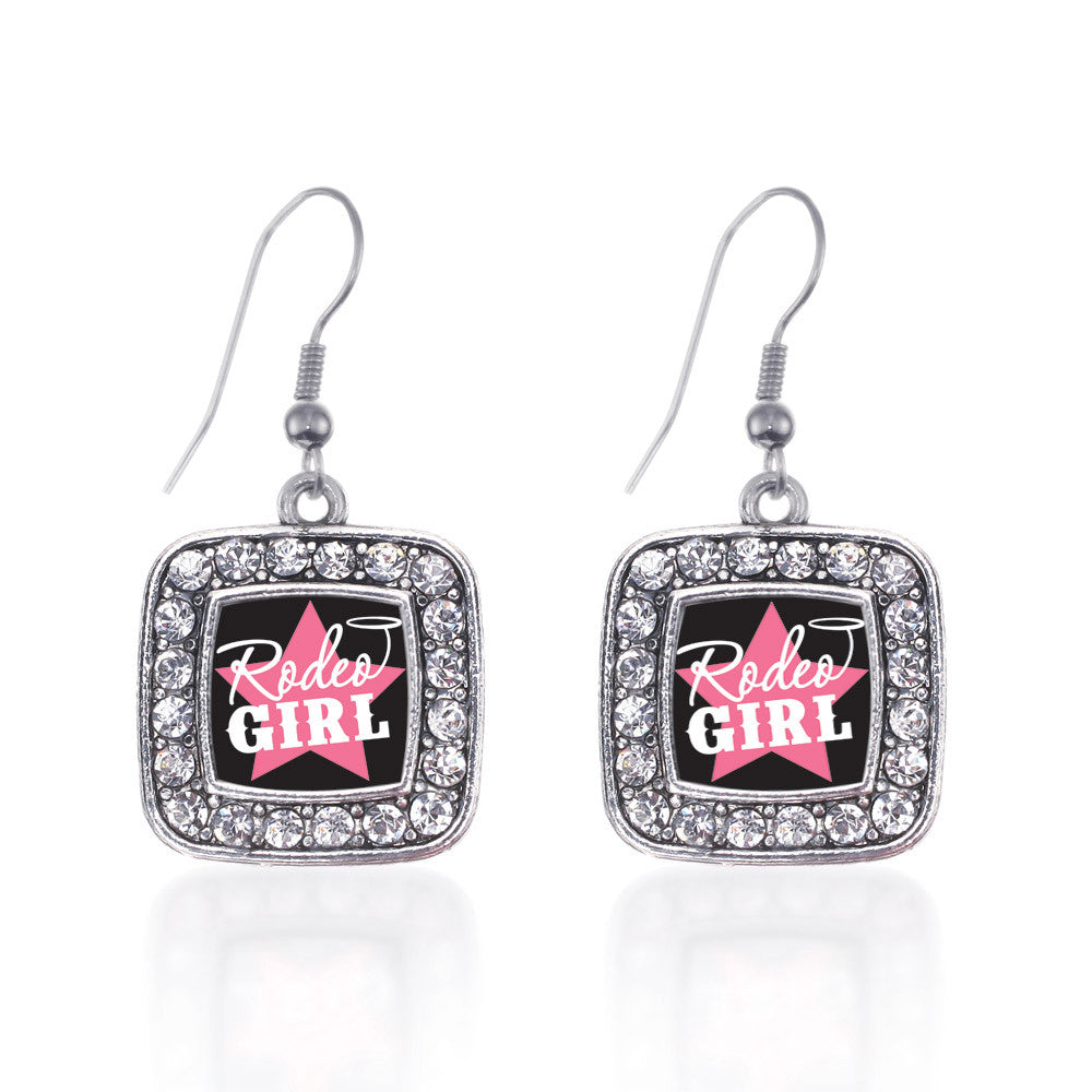 Rodeo Girl Square Charm