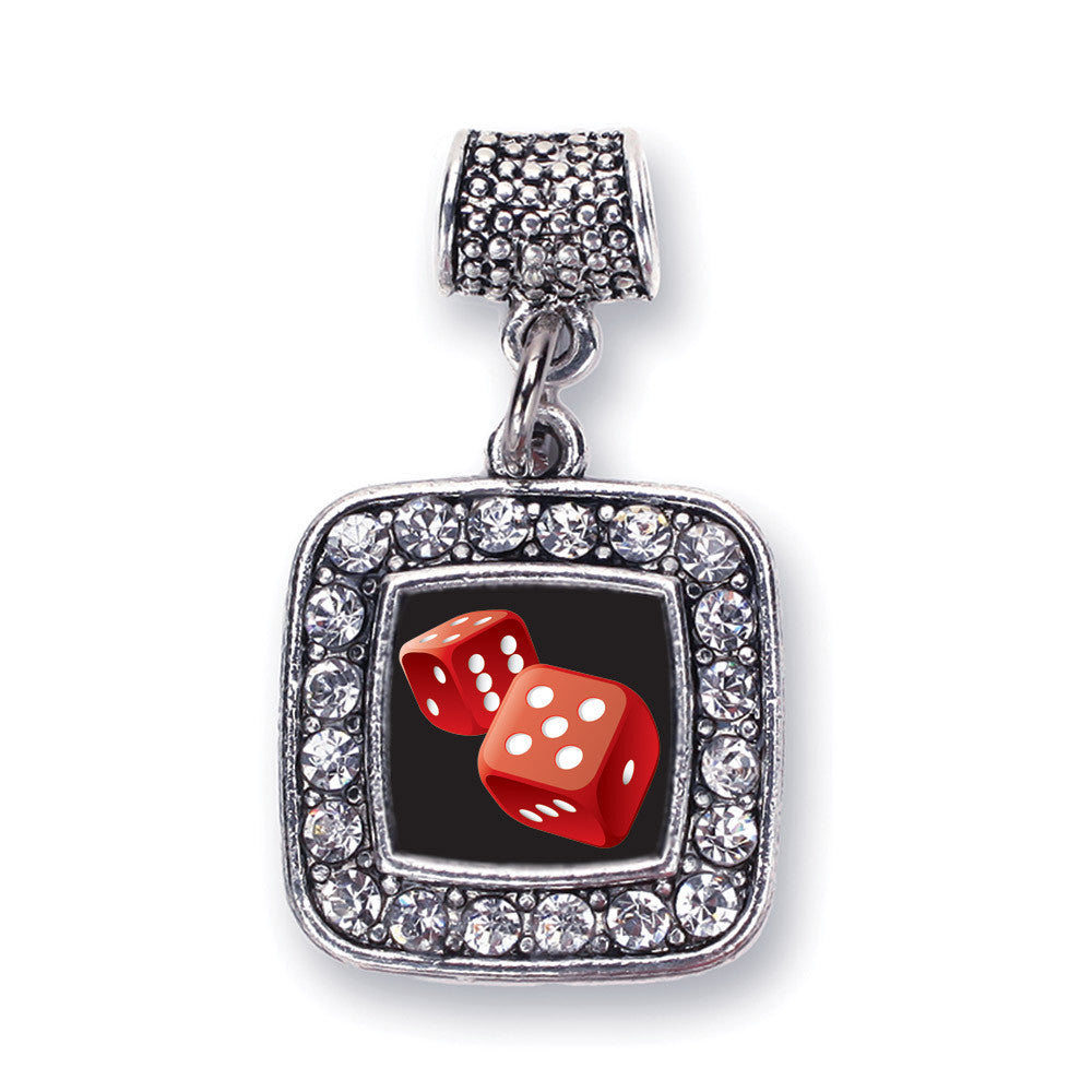 Roll The Dice Square Charm