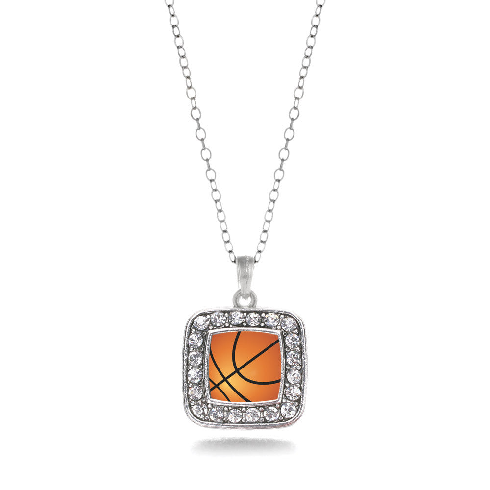 Basketball Square Charm