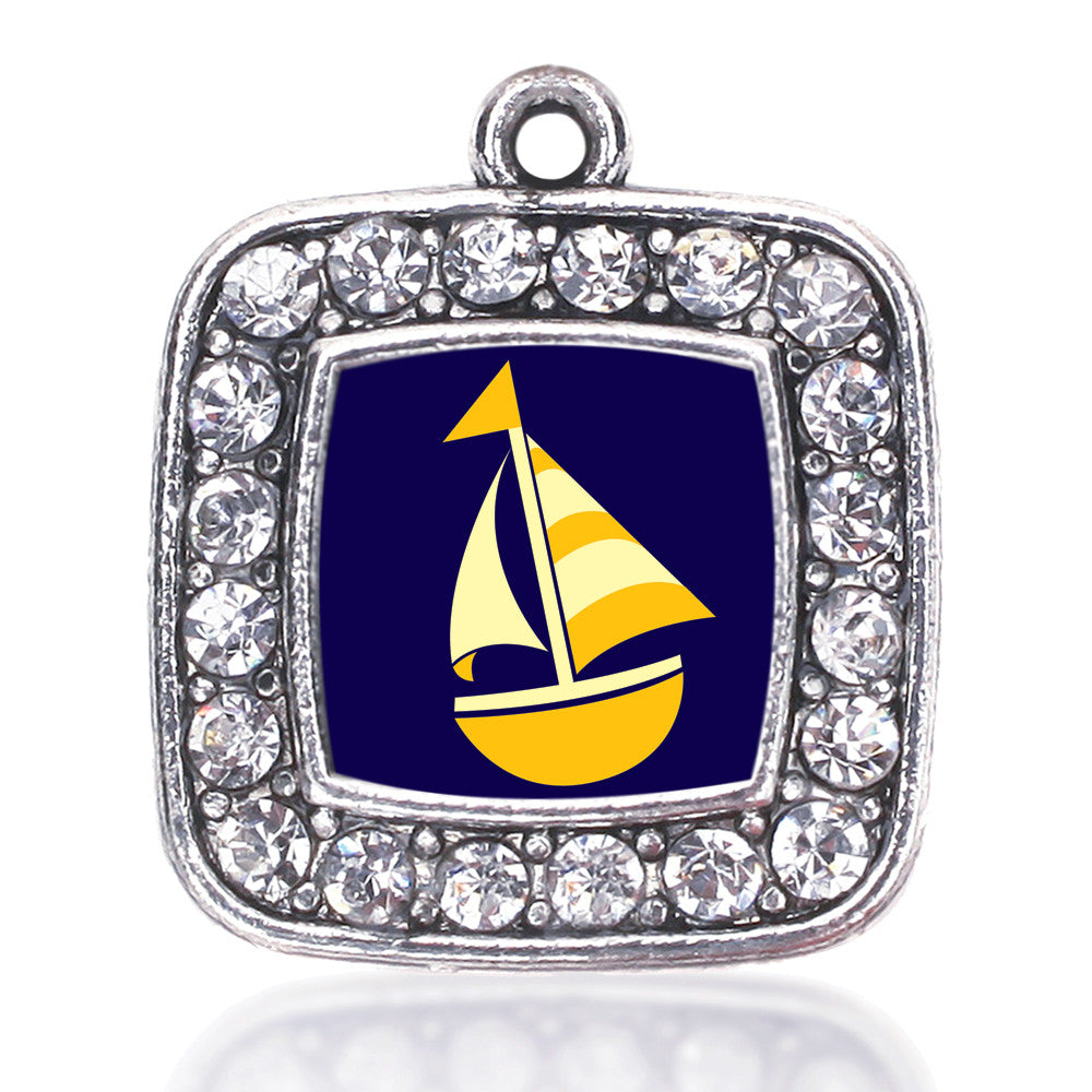 Sailboat Square Charm