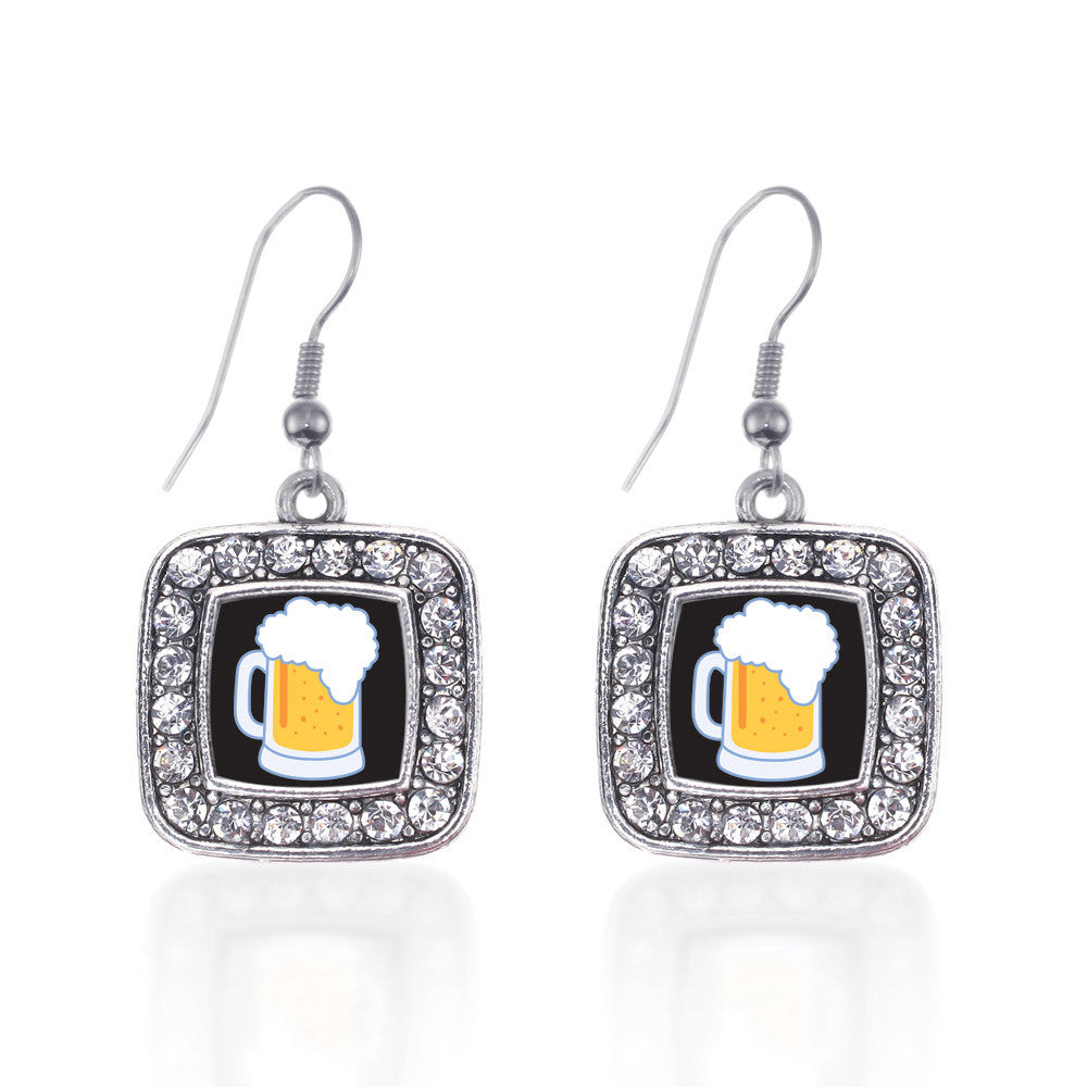 Beer Lovers Square Charm