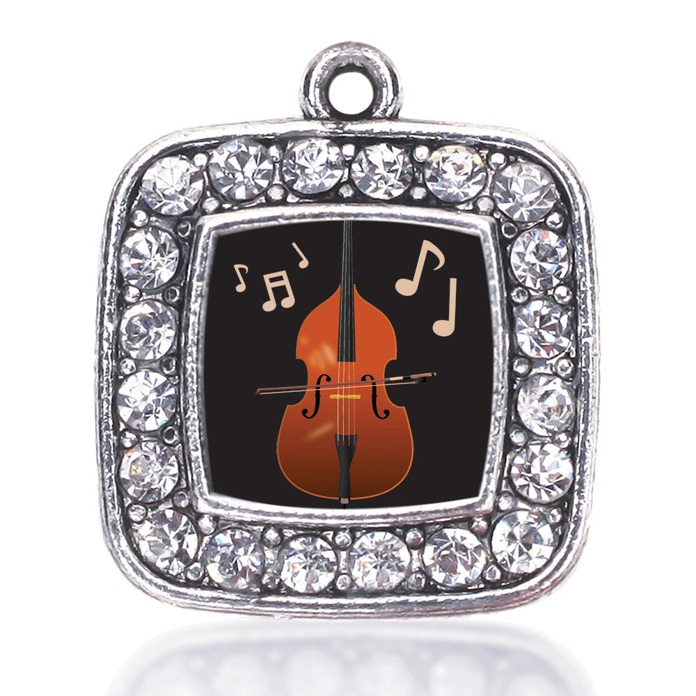 Stand Up Bass Square Charm