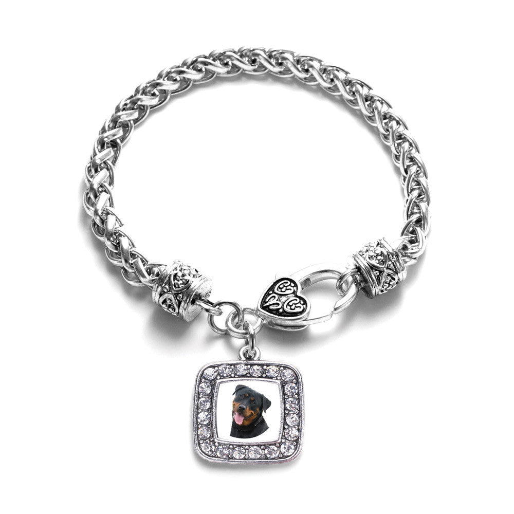 The Rottweiler Square Charm