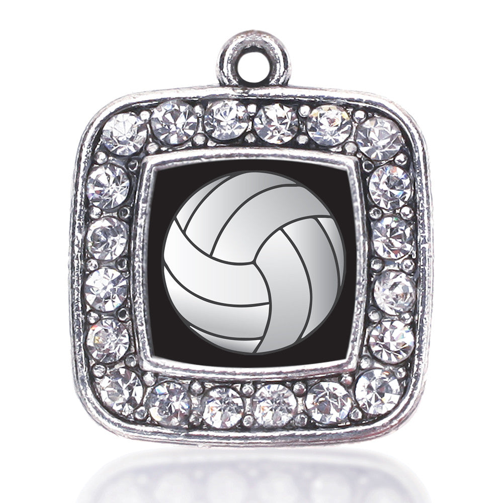 Volleyball Square Charm