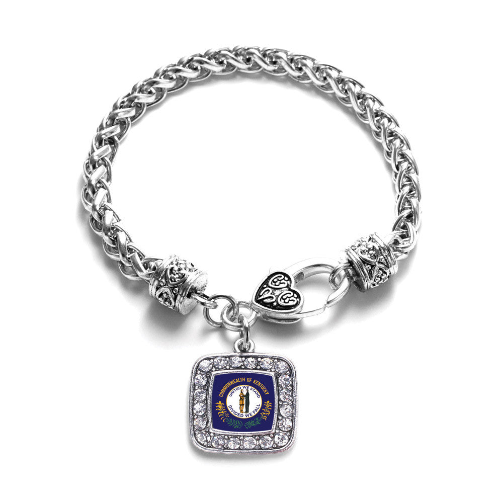 Kentucky Flag Square Charm