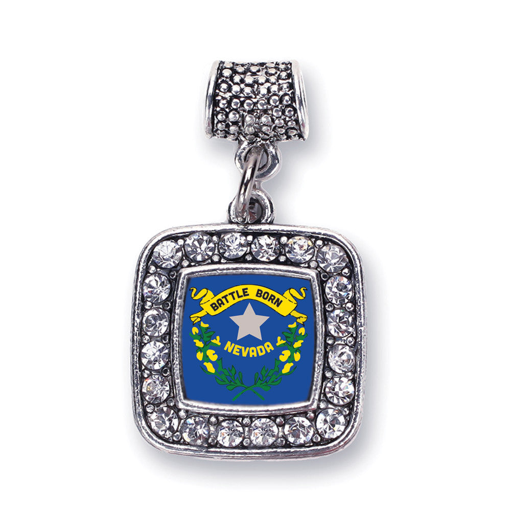 Nevada Flag Square Charm