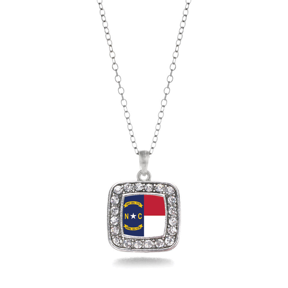 North Carolina Flag Square Charm