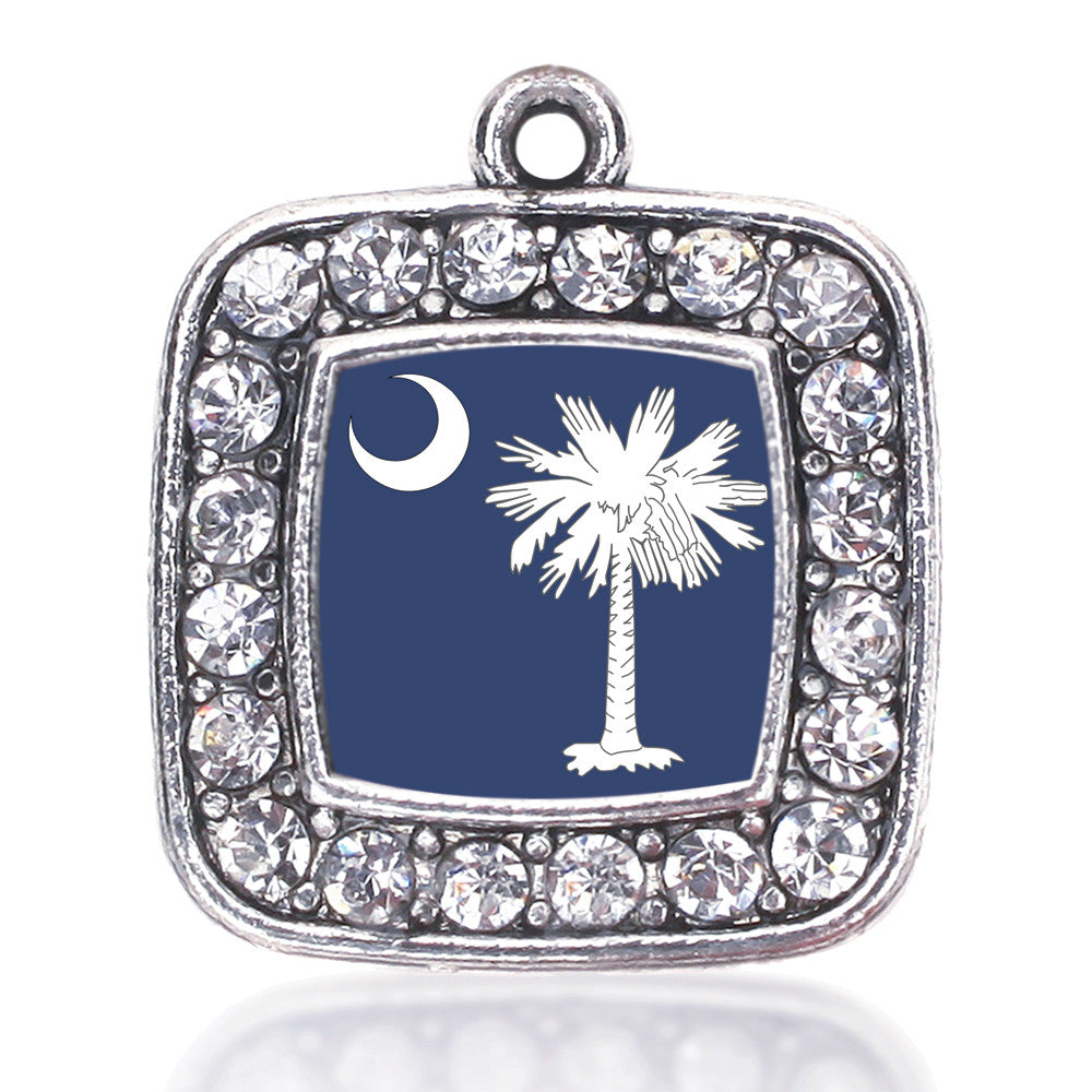 South Carolina Flag Square Charm