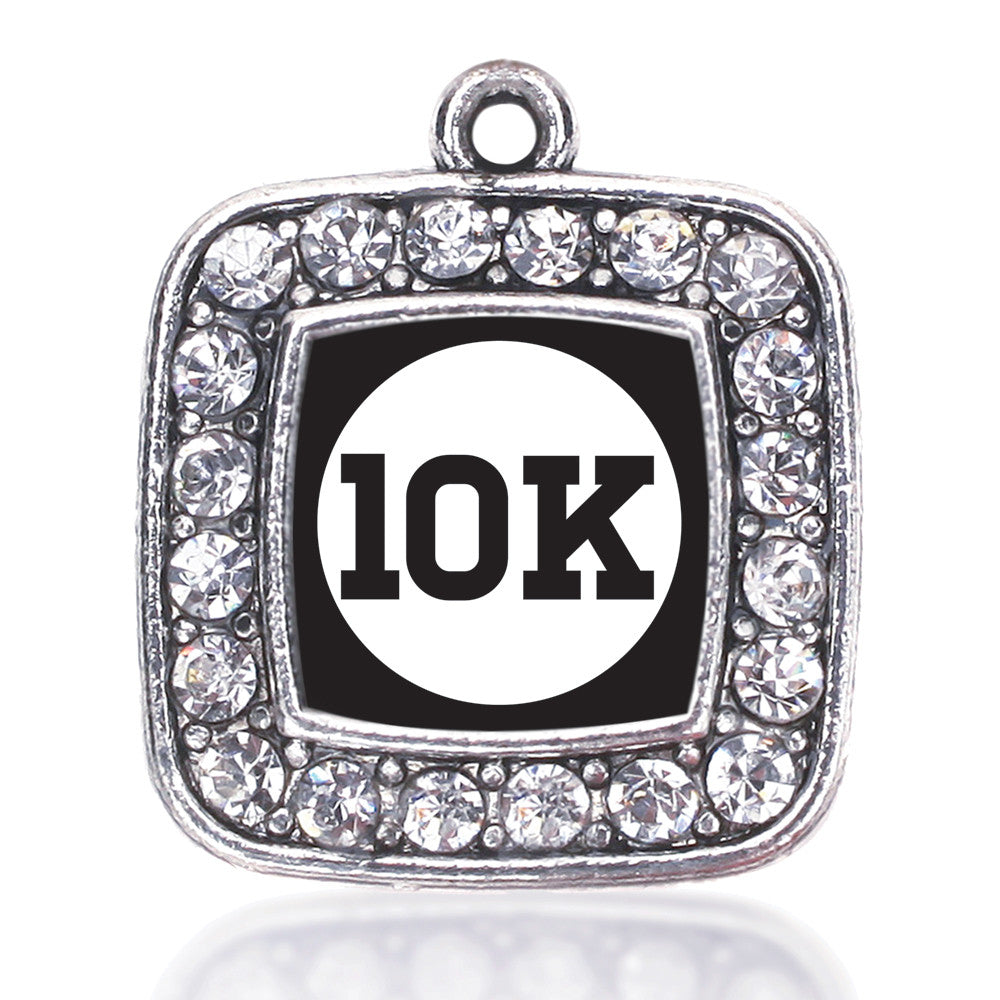 10k Runners Square Charm
