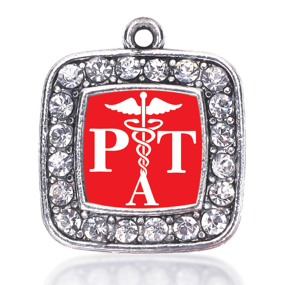 Physical Therapist Assistant Square Charm
