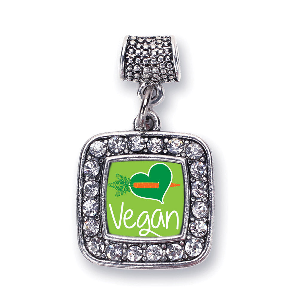 Vegan Square Charm