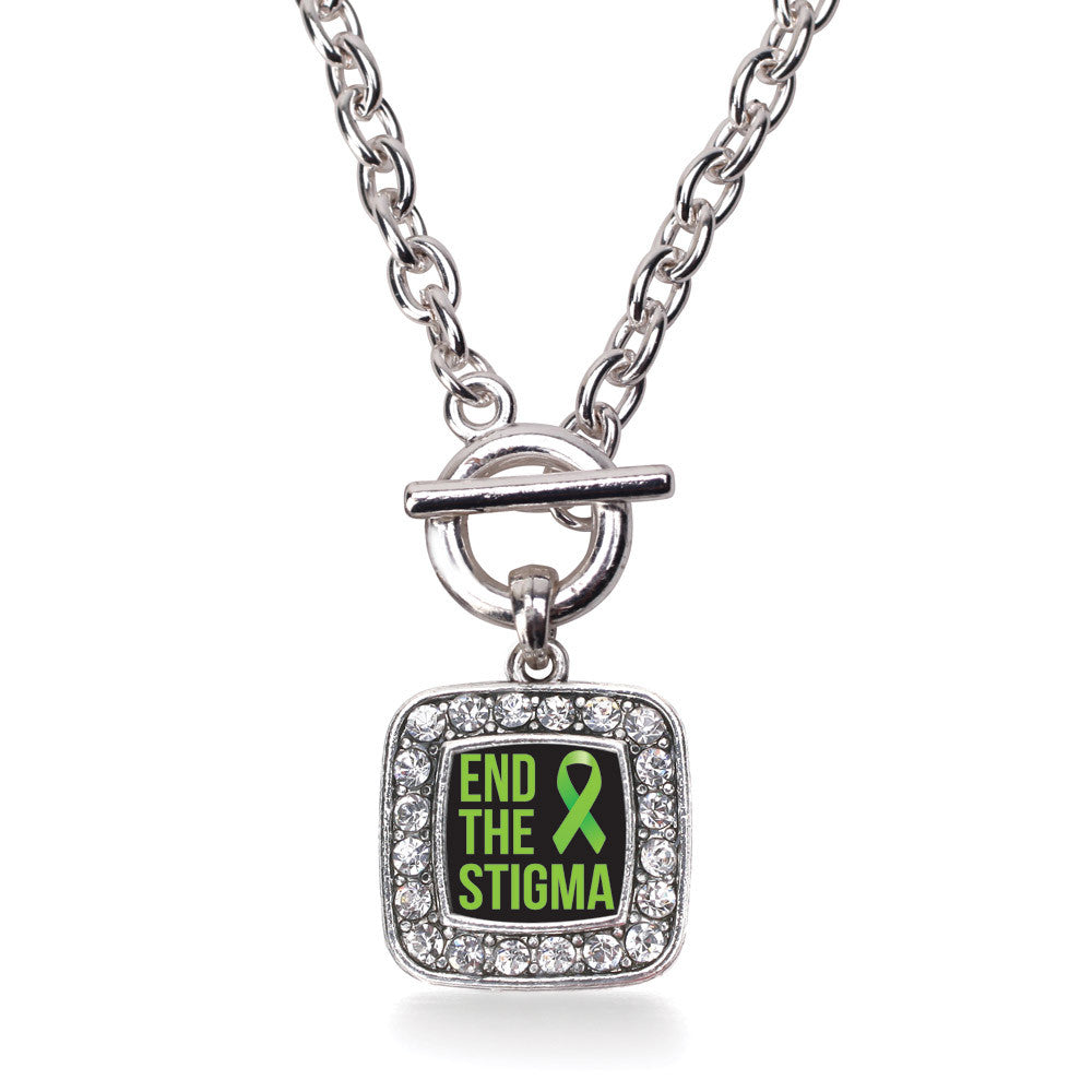 Mental Health Awareness Square Charm