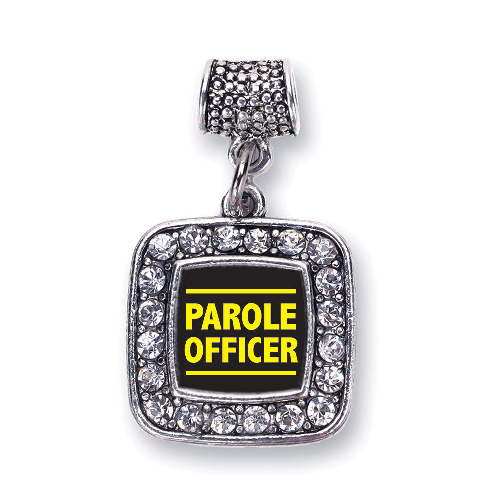 Parole Officer Square Charm