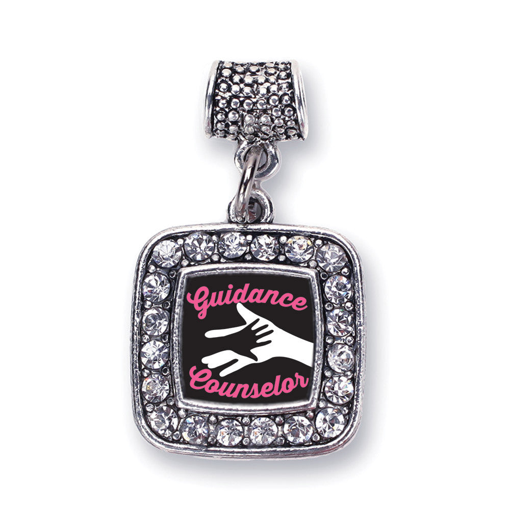 Guidance Counselor Square Charm