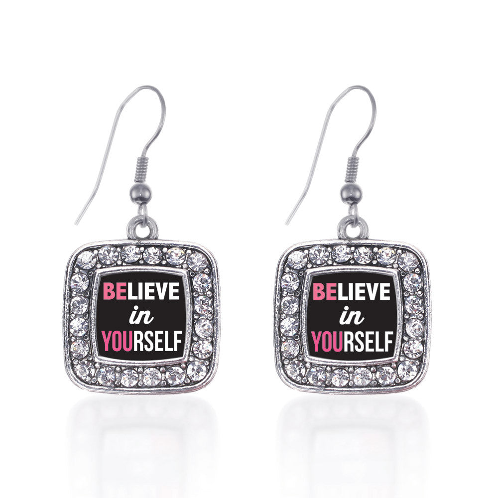 Believe in Yourself Square Charm
