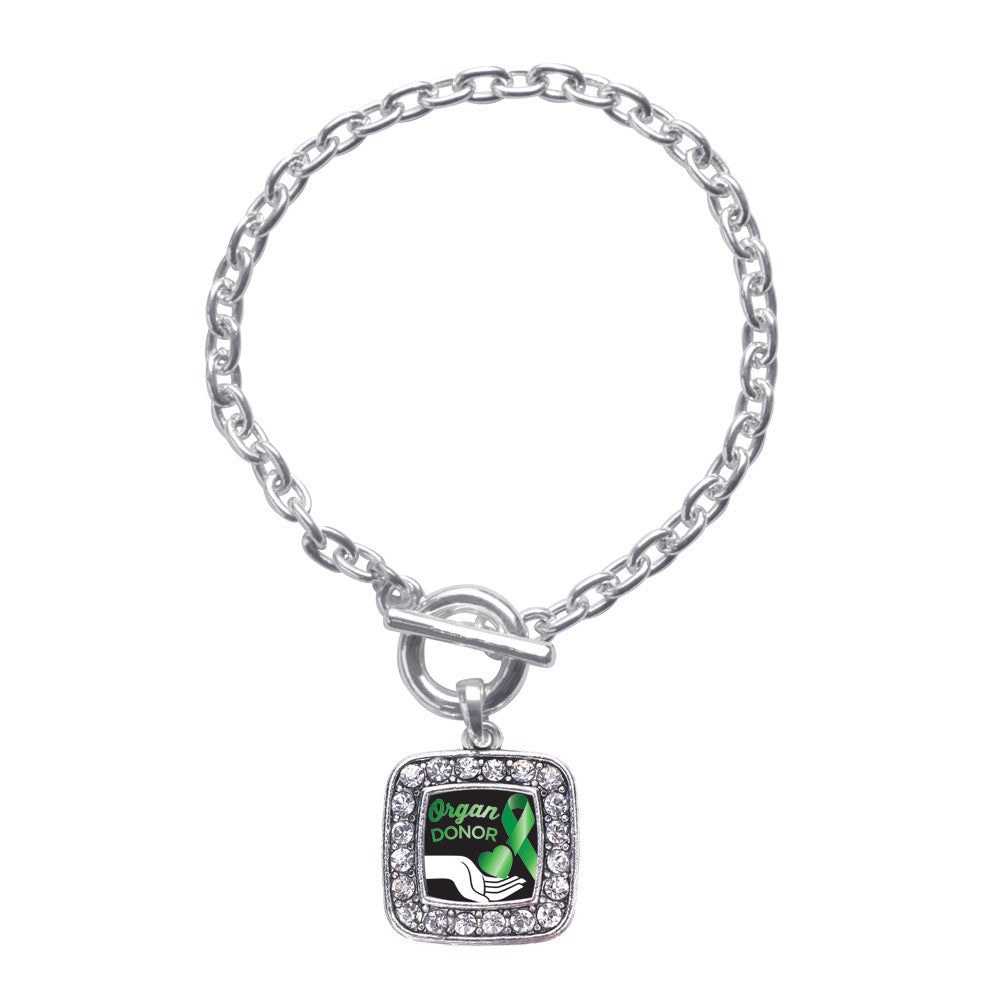 Organ Donor Square Charm
