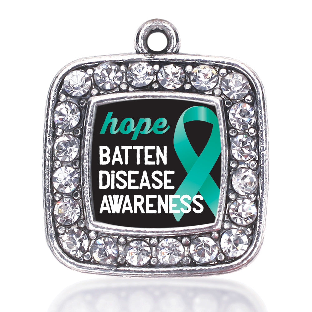 Batten Disease Square Charm