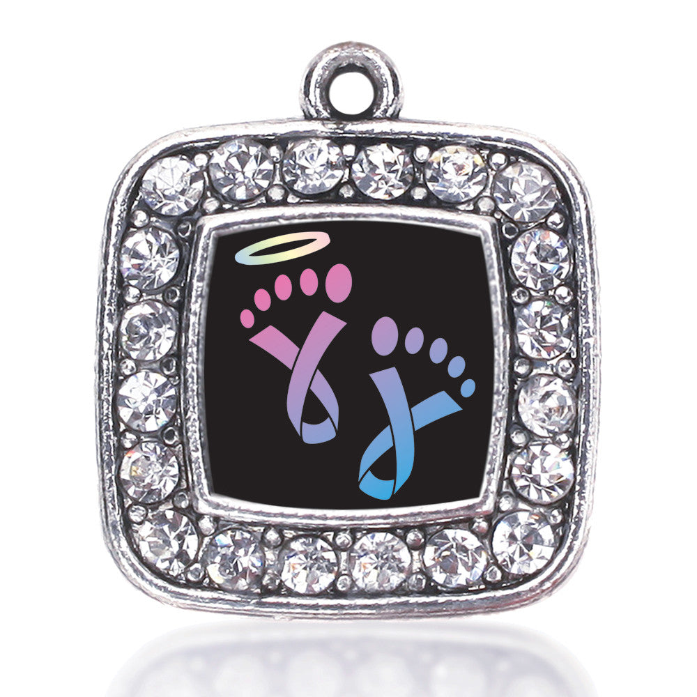 Infancy Loss Square Charm