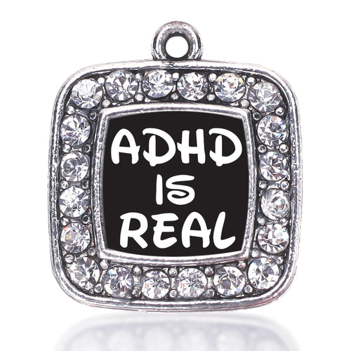 ADHD Awareness Square Charm