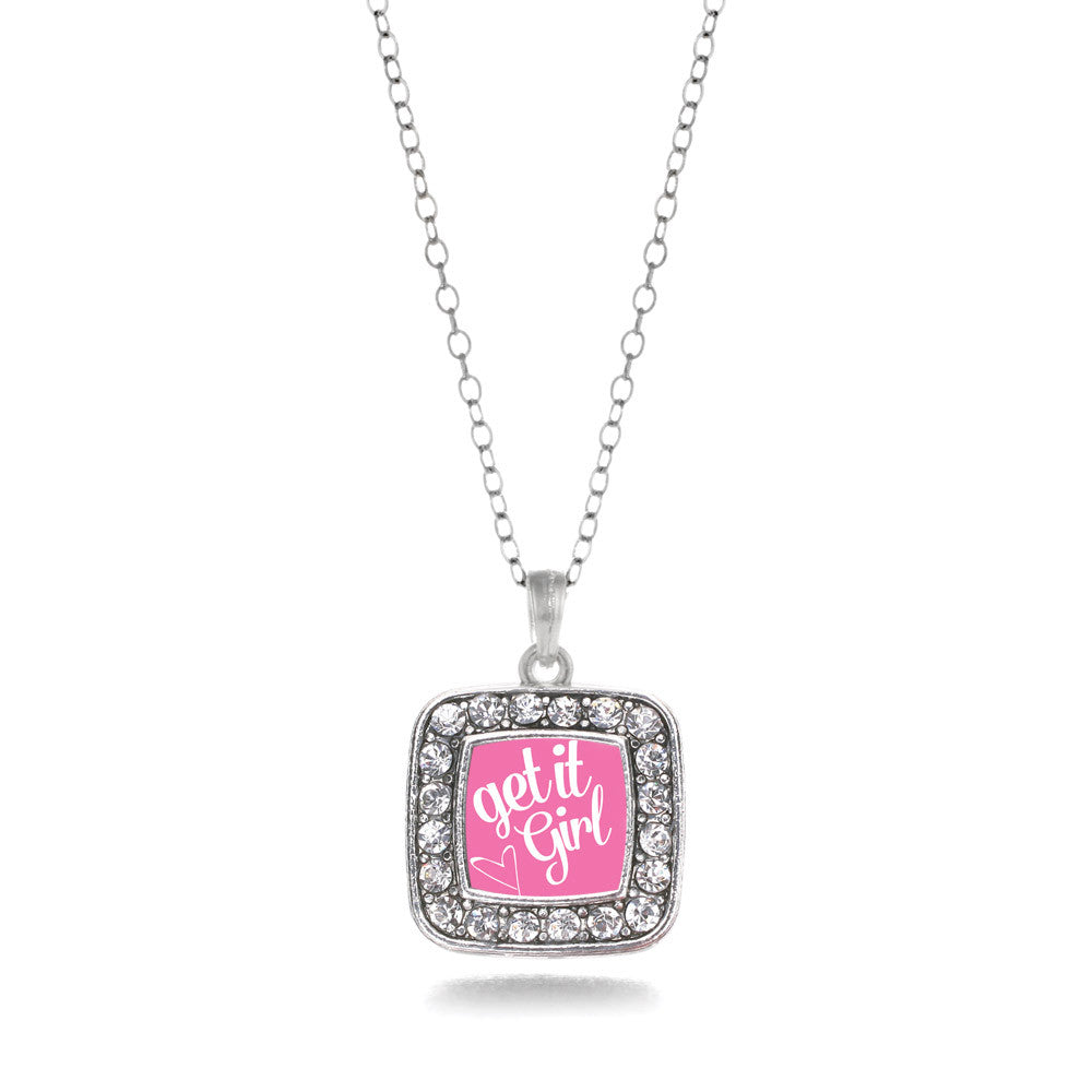 Get It Girl Square Charm