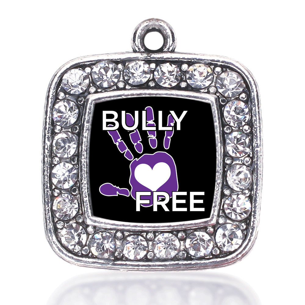Bullying Support and Awareness Square Charm