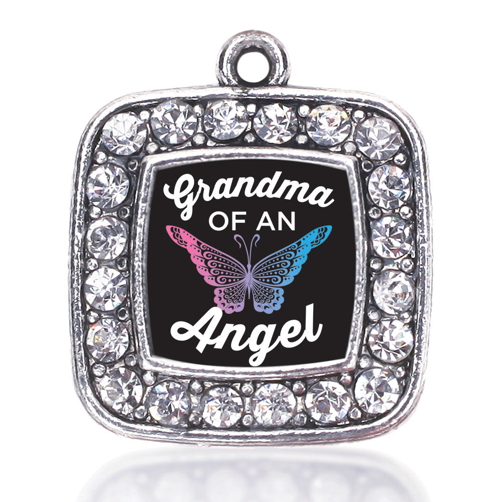 Grandma Of An Angel Square Charm