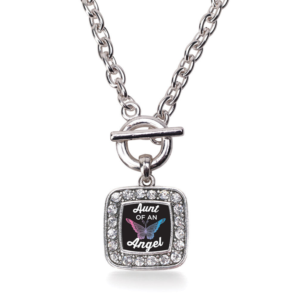 Aunt Of An Angel Square Charm