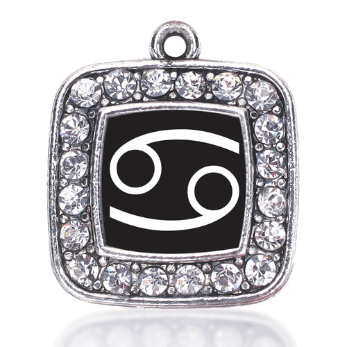 Cancer Zodiac Square Charm