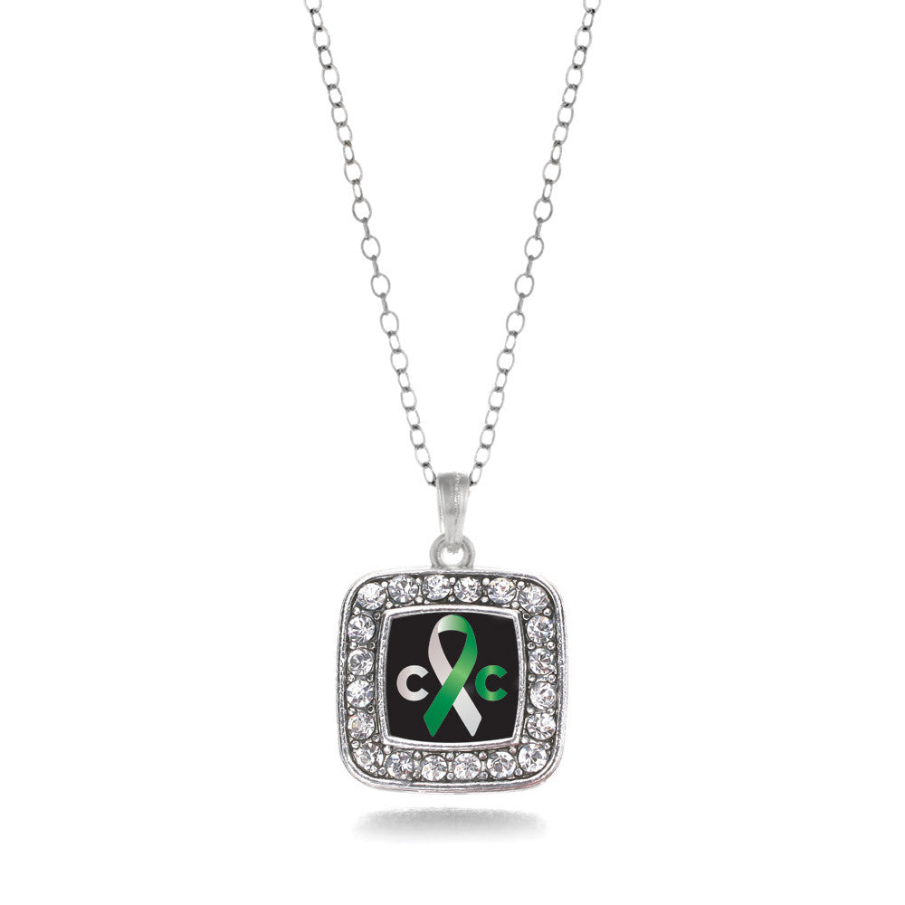 Cervical Cancer Support Square Charm