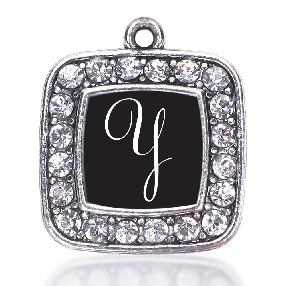 My Script Initials - Letter Y Square Charm