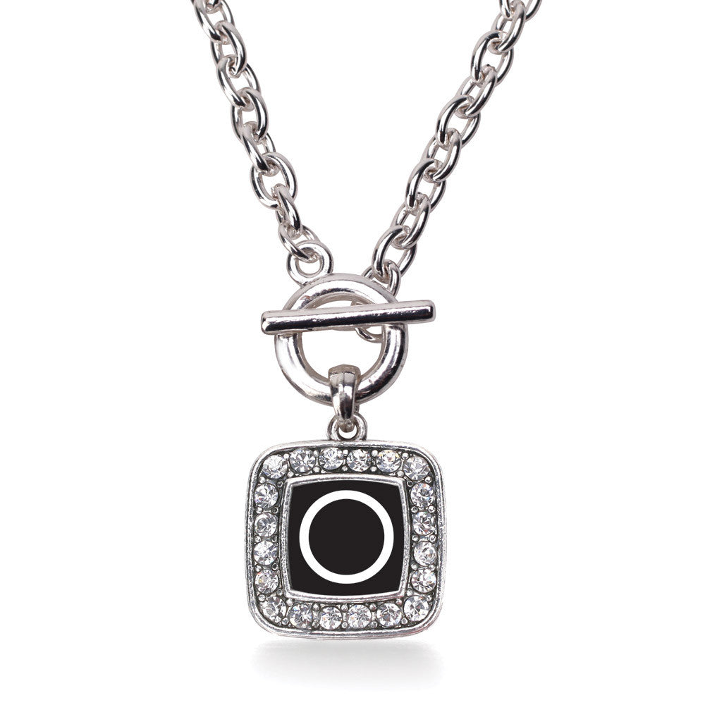 My Initials - Letter O Square Charm