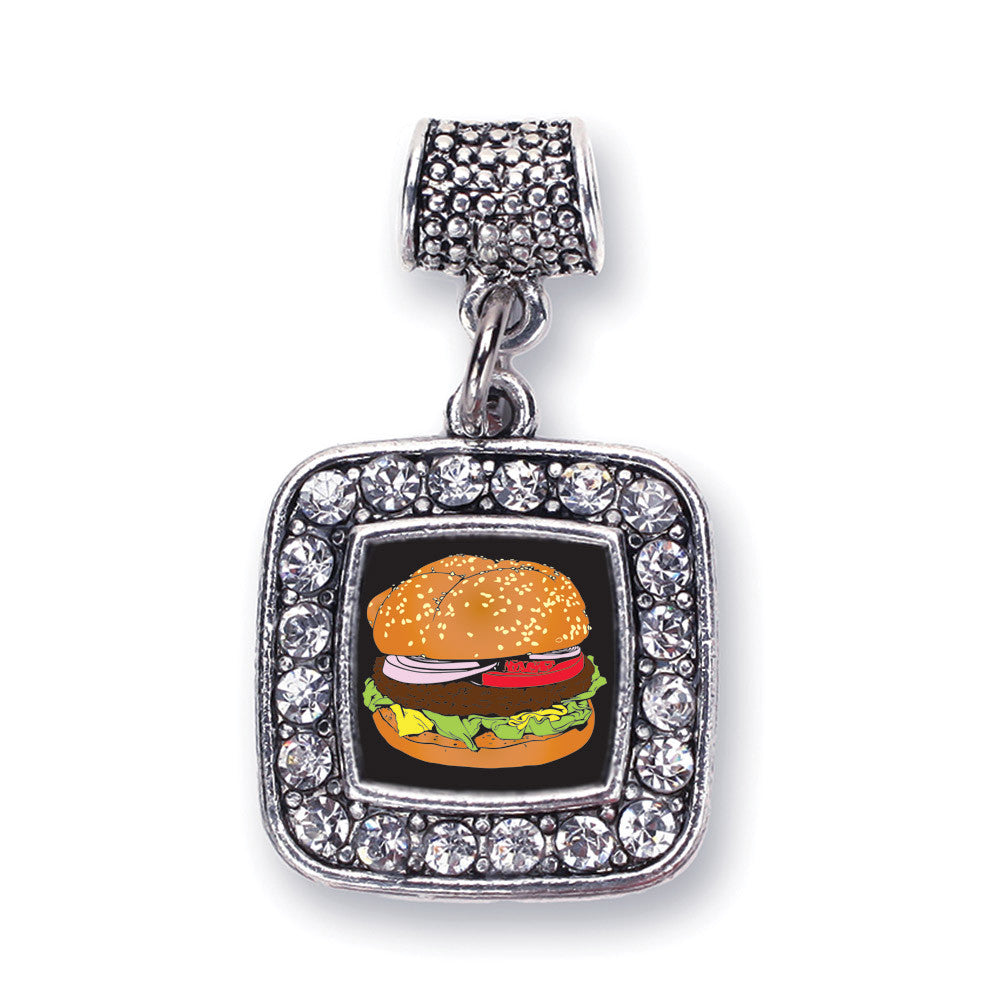 Cheeseburger Square Charm