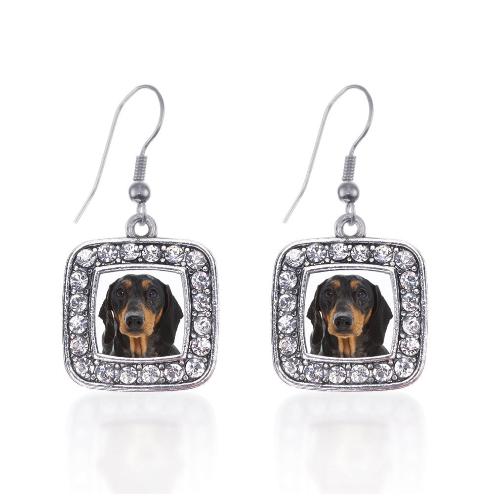 The Dachshund Square Charm