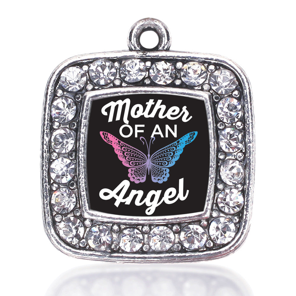 Mother Of An Angel Square Charm